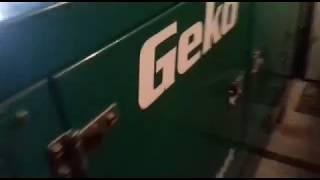 видео GEKO 100000 ED-S/DEDA S - дизель-генератор 80,0 кВт. Трехфазная дизельная электростанция 380В.