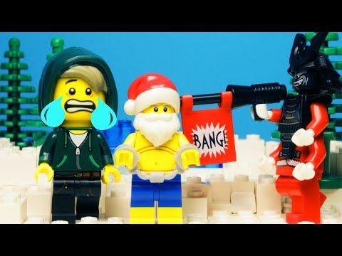 Lego Ninjago Santa Claus Stop Motion