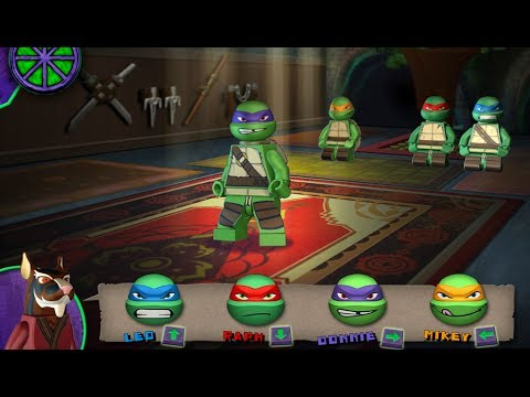 Teenage Mutant Ninja Turtles Ninja Training Lego Youtube