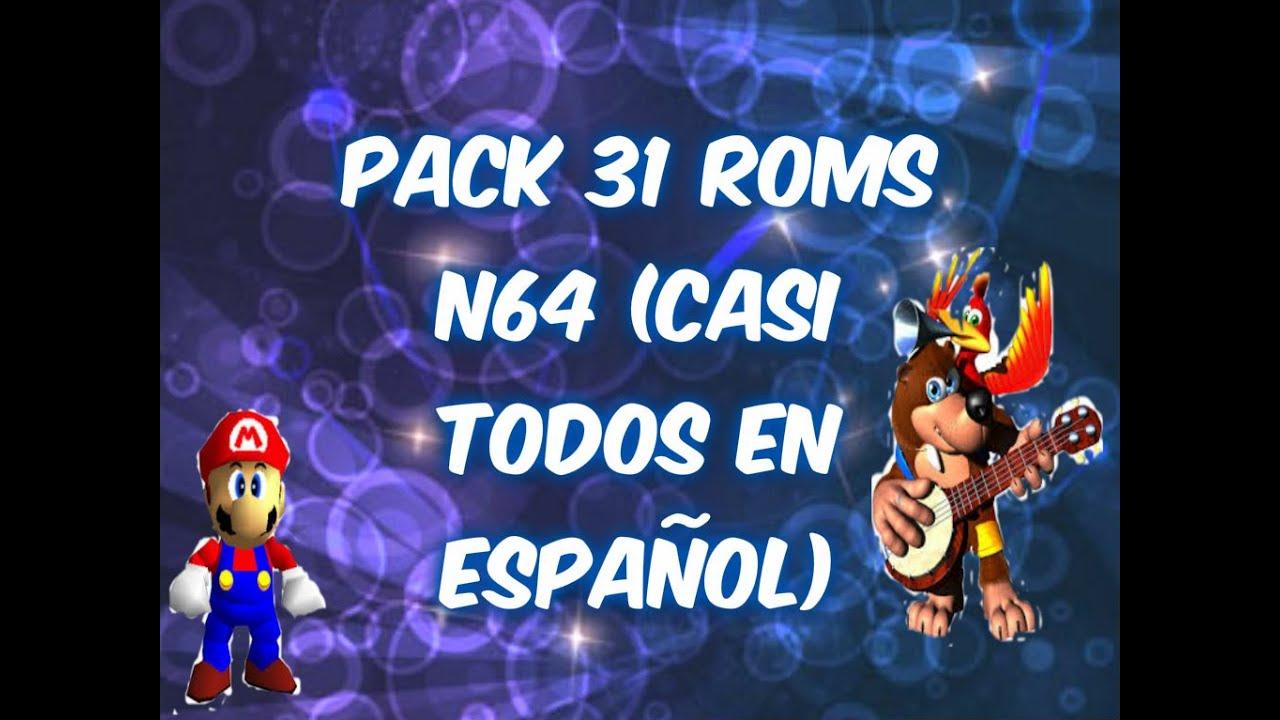 pacote de roms para n64