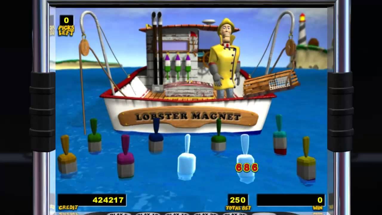 IGT Slots Lucky Larry's Lobstermania Bonus - YouTube