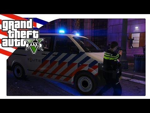 Nederlandse Politie stopt Bank Overval [GTA 5] - KillaJ (LSPDFR)