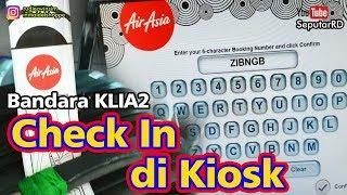 Seperti ini Cara Check in Tiket AIRASIA di KIOSK MOBILE