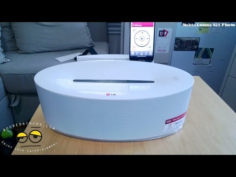 LG ND5630 Dual Dock Wireless Speakers System Review