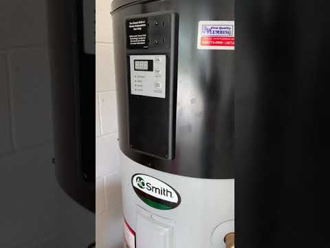 Water Heater Flush AO Smith Hybrid