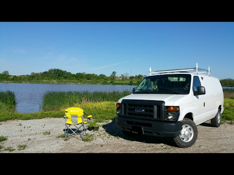 Swan Lake, Milligan, Nebraska - Full time van life