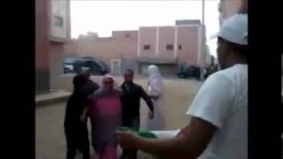 الإعتداء على الناشطة الحقوقية الصحراوية امينتو حيدار