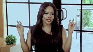 The Smart Money Woman. An African girl