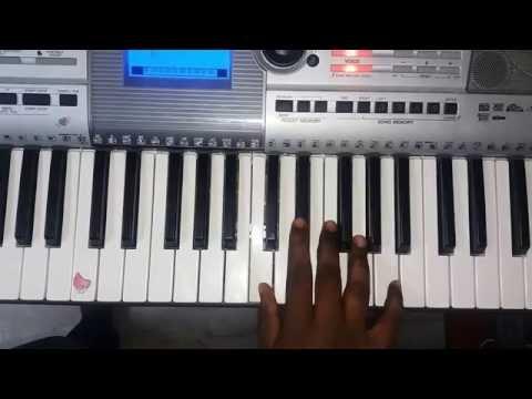 Nagini Sun tv serial music in keyboard notes