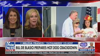 De Blasio Condemns Hot Dogs With Latest Crackdown • Tucker Carlson Tonight