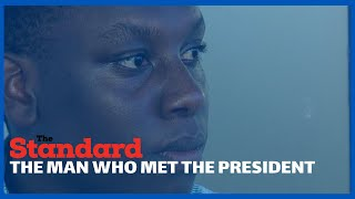 \'\'I did not cry\', One on one with journalist who got emotional while interviewing President Uhuru