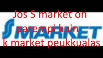S market VS K market