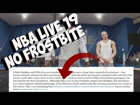NBA LIVE 19 NEWS NO CLICKBAIT, NO FROSTBITE , JUST SHARED RELATED FEATURES