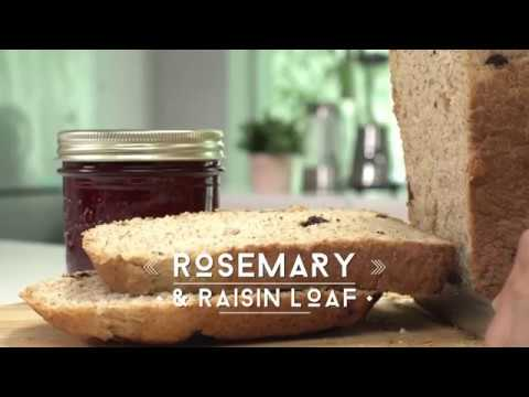Sharp Bread Maker Rosemary And Raisin Loaf