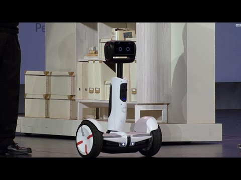 CNET News - See Intel's Segway robot in action