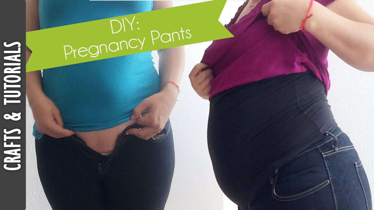 Diy Pregnancy Pants Save Money Fixing Your Pants The290ss