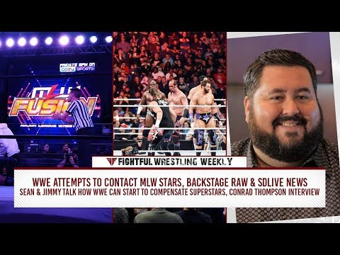 Fightful Wrestling Weekly: WWE Contacts MLW Stars, Backstage RAW & SDLive News & More