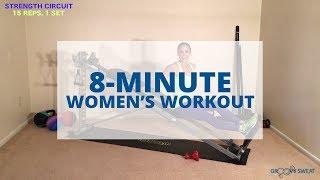Video 8 Minute Women's Total Gym Workout download MP3, 3GP, MP4, WEBM, AVI, FLV Juni 2018
