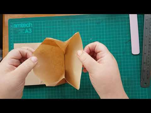 Create with me mini paper bag album/journal