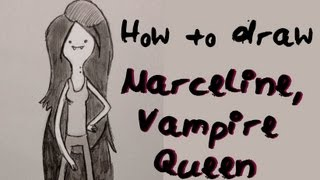 Ep. 14  How to draw Marceline the Vampire Queen