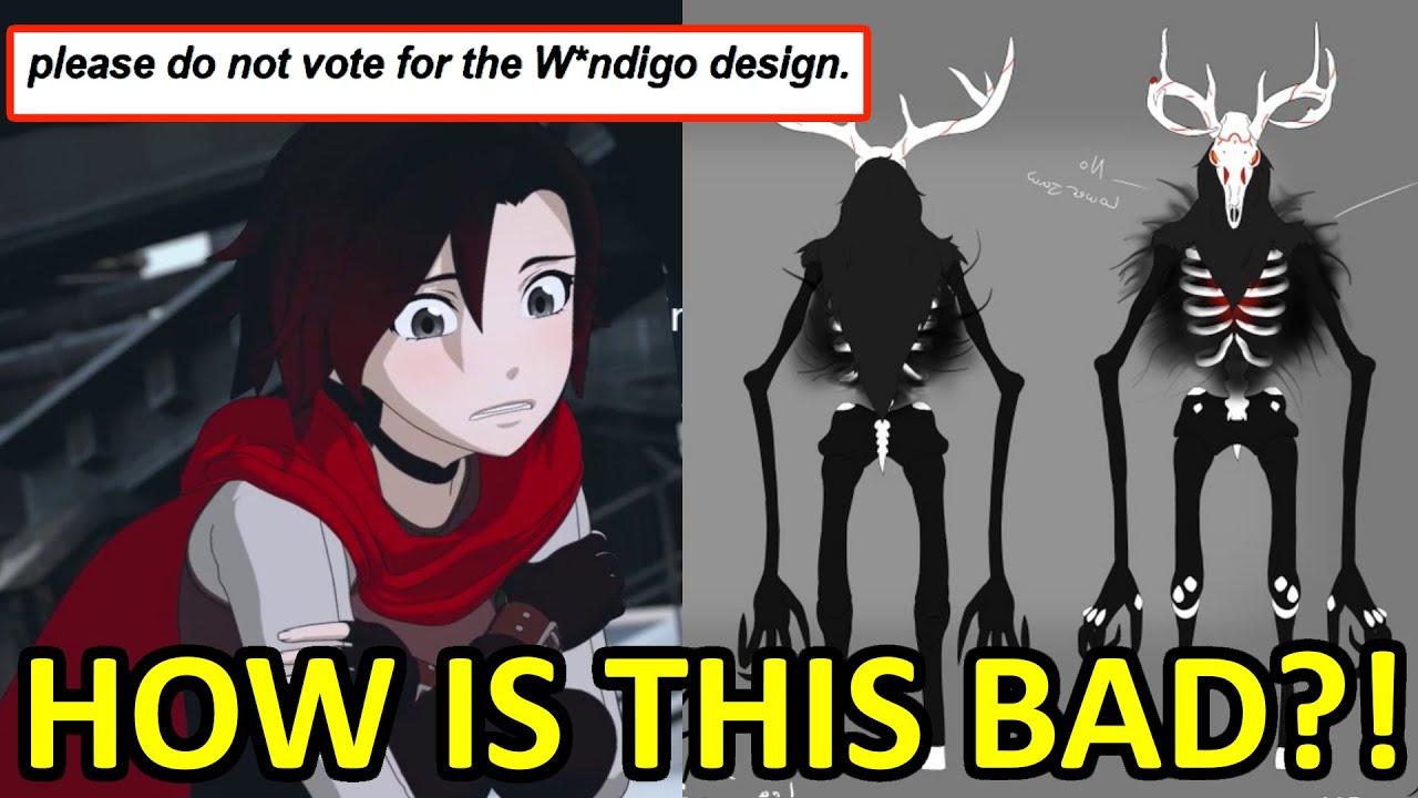 People Want RWBY Wendigo Art Taken Down!