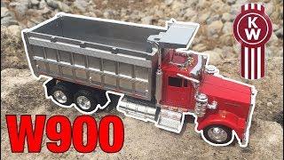 Diecast kenworth w900 dump truck review