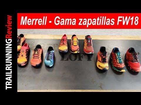 Merrell - Gama Zapatillas Otoño Invierno 2018