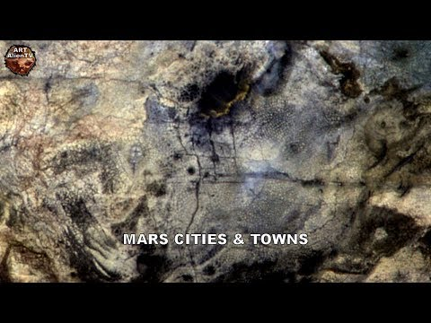 LATEST - MARS CITIES & TOWNS - Intelligent Structures on Planet Surface - AATV - 26/3/19