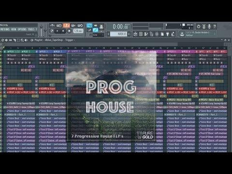 7 Free Progressive House Melodies + FREE FLP