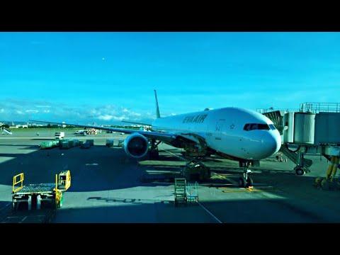 EVA Boeing 777-300ER Premium Economy Class(Elite Class) LAX to Taipei