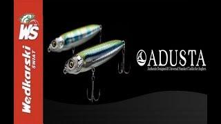 Prezentacja przynęt spinningowych firmy Adusta - Zdjęcia podwodne