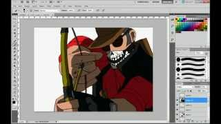 Speed painting TF2 - Sniper