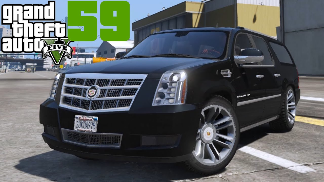 Gta V Mods 059 2012 Cadillac Escalade Esv Deutsch