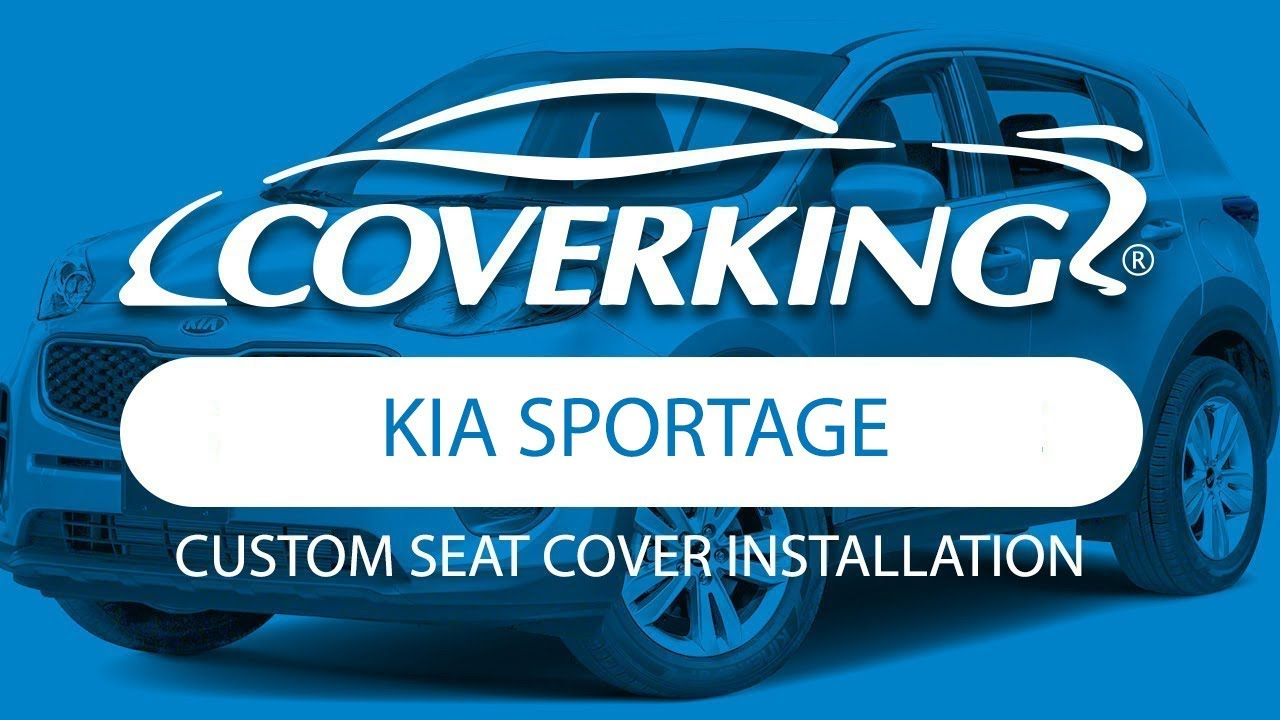 Coverking 2016 2018 Kia Sportage Fe Custom Seat Cover Installation Remote Covers