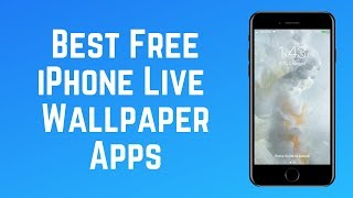 The Best Free Live Wallpaper Apps For Ios To Try In 2019 Youtube