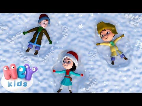 Зимние Детские Песни - Ангелы поют - Рождественские Детские Песни - Новогодние Песенки