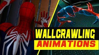 Spider Man PS4 and Wall Crawling Animations