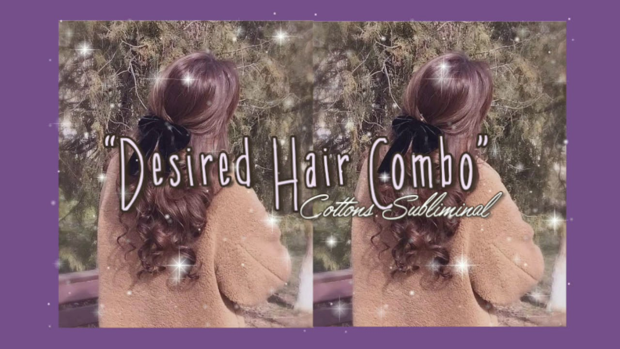 Desired Hair Combo || WORKS REALLY FAST✨