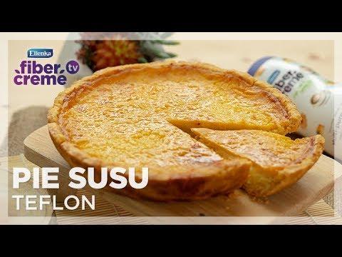 Fibercreme Tv Resep Pie Susu Teflon