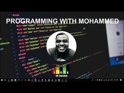 Coding With Mohammed Intro