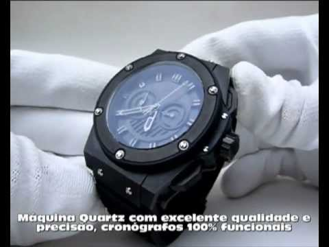 3bf69520048 Hublot King Power All Black - YouTube