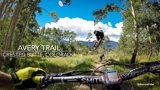 Mountain Biking Avery Trail in Crested Butte, Colorado