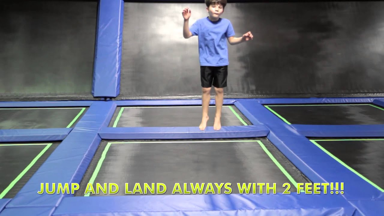 off the wall trampoline fun center safety video