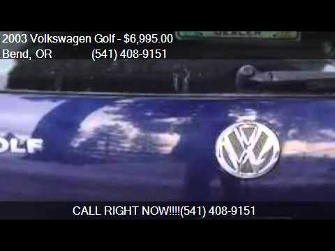 2003 Volkswagen Golf GL TDI for sale in Bend OR 97702 at Lo & 2003 Volkswagen Golf GL TDI for sale in Bend OR 97702 at Lo - YouTube azcodes.com