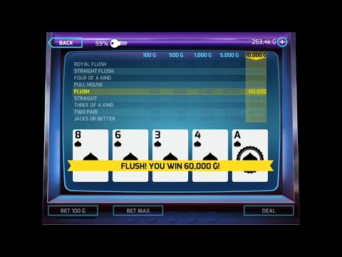 Gangstar Vegas | Video Poker 'Get Yo Money Up!'