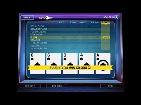 Gangstar Vegas | Video Poker 'Get Yo Money Up!'