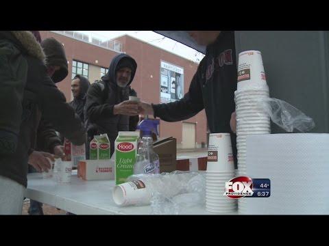 Family Helps Homeless in Honor of Fallen Vet