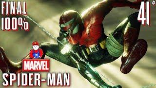 Marvel's Spider-Man DLC ВСЯ ИГРА ПРОЙДЕНА НА 100 ПРОЦЕНТОВ #41