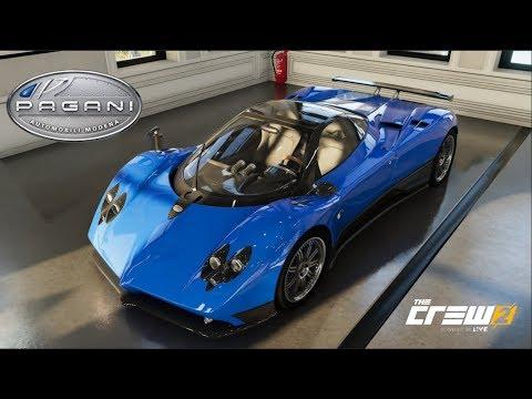 The Crew 2 Pagani Zonda F Customization Top Speed Run Review