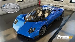The Crew 2 - PAGANI ZONDA F - Customization, Top Speed Run, Review